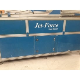 Adelco Jet Force 120 Gas Fired Conveyor Dryer