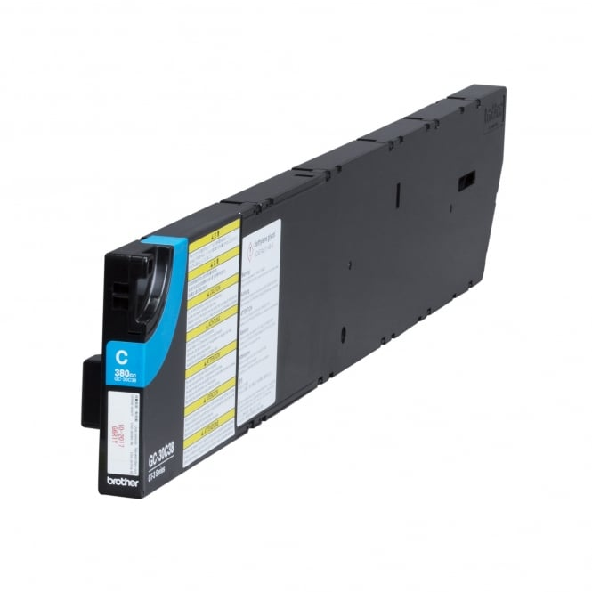 Brother DTG Ink Cartridge Cyan 380cc for GT-3 Series