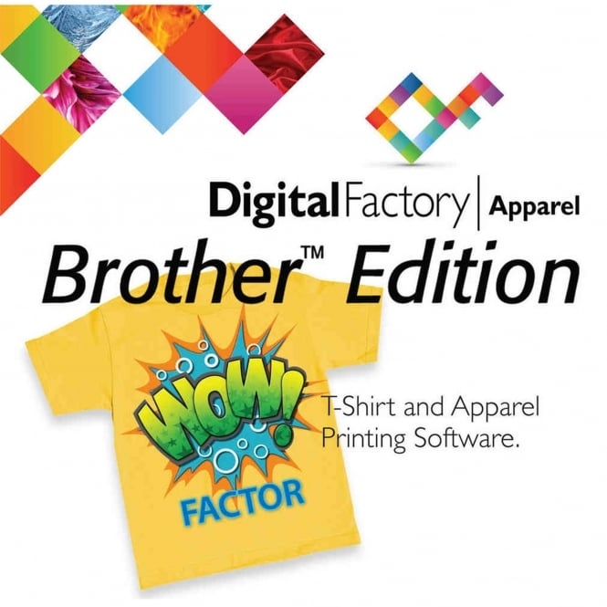 CADLink Digital Factory Apparel - Brother® Edition