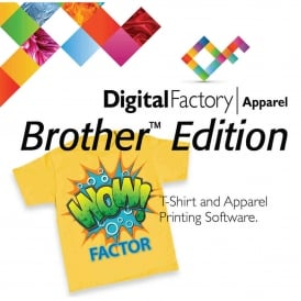 CADLink Digital Factory Apparel Brother Edition Direct to Garment printer