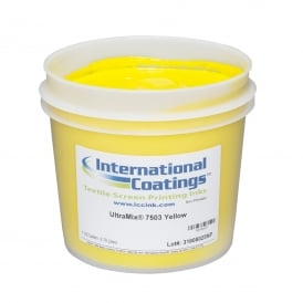 International Coatings UltraMix 7503 Yellow Plastisol Ink