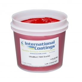 International Coatings UltraMix 7505 Scarlet Plastisol Ink