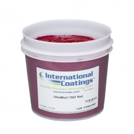 International Coatings UltraMix 7507 Red Plastisol Ik
