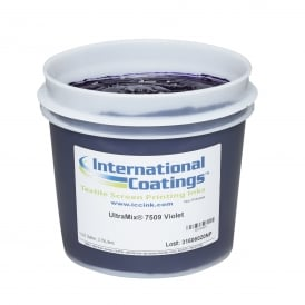 International Coatings UltraMix 7509 Violet Plastisol Ink