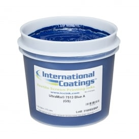 International Coatings UltraMix 7513 Blue A Plastisol Ink