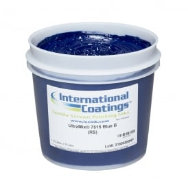 International Coatings UltraMix 7515 Blue B Plastisol Ink