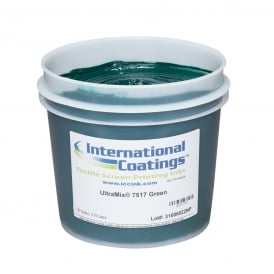 International Coatings UltraMix 7517 Green Plastisol Ink