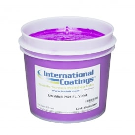 International Coatings UltraMix 7521 FL. Violet Plastisol Ink