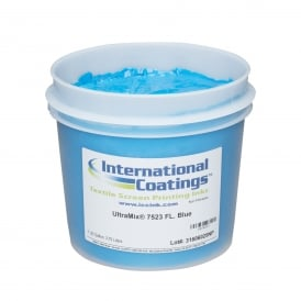 International Coatings UltraMix 7523 FL. Blue Plastisol Ink