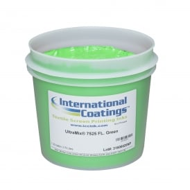 International Coatings UltraMix 7525 FL. Green Plastisol Ink