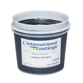 International Coatings UltraMix 7536 Black Plastisol Ink