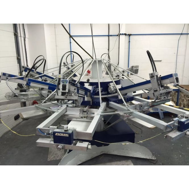 MHM X-Type Plus 8/6 Automatic Screen Printing Press
