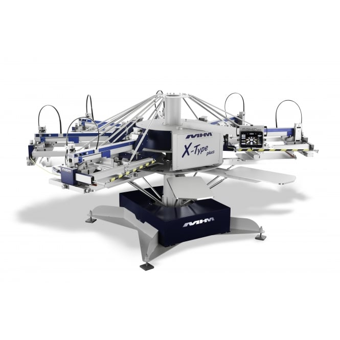 MHM X-Type Plus Automatic Screen Printing Press